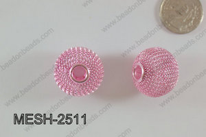 Mesh Bead 25mm 5 pcs MESH-2511
