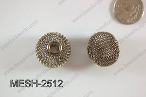 Mesh Bead 25mm 5 pcs MESH-2512