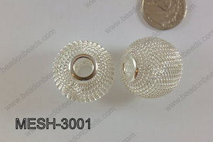 Mesh Bead 30mm 5 pcs MESH-3001