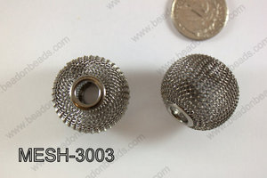 Mesh Bead 30mm 5 pcs MESH-3003