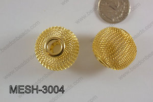 Mesh Bead 30mm 5 pcs MESH-3004