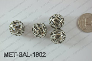 Metal Balls 24pcs 18mm MET-BAL-1802
