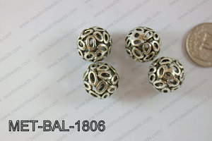Metal Balls 24pcs 18mm MET-BAL-1806