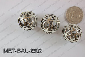 Metal Balls 12pcs 25mm MET-BAL-2502