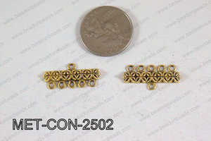 5 Hole Connector 25x12mm MET-CON-2502