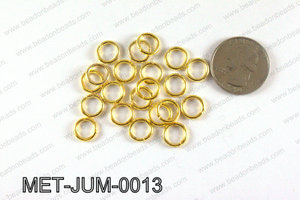 10MM Gold open Jump ring MET-JUM-0013