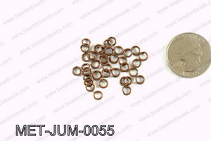 5MM Copper open Jump ring MET-JUM-0055