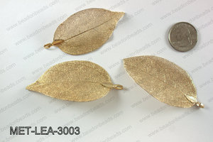 Electroplated copper leaf, 30x60mm MET-LEA-3003