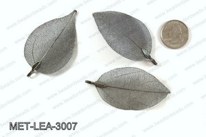 Electroplated copper leaf, 30x60mm MET-LEA-3007