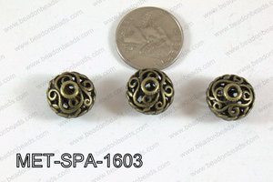 Filligree Spacer Bronze 10x16mm MET-SPA-1603