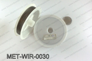 Gray Steel beading wire 0.30mm MET-WIR-0030