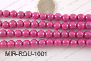 Miracle Bead Hot Pink 10mm MIR-ROU-1001
