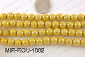 Miracle Bead Yellow 10mm MIR-ROU-1002