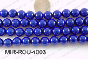 Miracle Bead Dark Blue 10mm MIR-ROU-1003