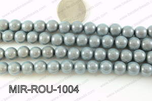 Miracle Bead Grey 10mm MIR-ROU-1004