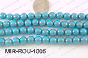 Miracle Bead Turquoise 10mm MIR-ROU-1005