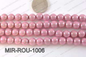 Miracle Bead Light Pink 10mm MIR-ROU-1006