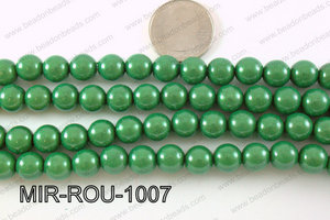 Miracle Bead Green 10mm MIR-ROU-1007