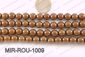 Miracle Bead Brown 10mm MIR-ROU-1009