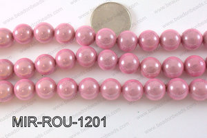 Miracle Bead Light Pink 12mm MIR-ROU-1201