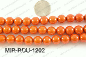 Miracle Bead Orange 12mm MIR-ROU-1202