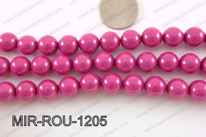 Miracle Bead Dark Pink 12mm MIR-ROU-1205