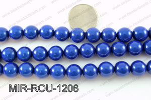 Miracle Bead Dark Blue 12mm MIR-ROU-1206