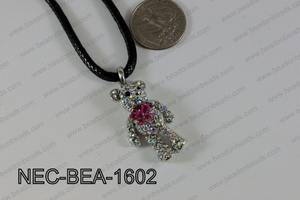 Necklace With Bear AB 34mmNEC-BEA-1602