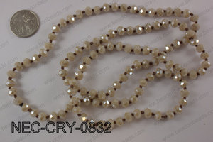 8mm crystal necklace NEC-CRY-0832