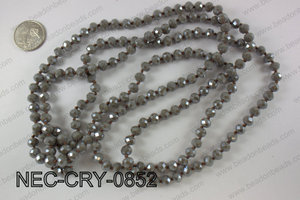 8mm crystal necklace NEC-CRY-0852