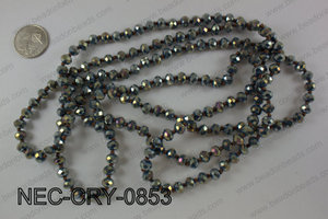8mm crystal necklace NEC-CRY-0853
