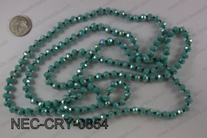 8mm crystal necklace NEC-CRY-0854