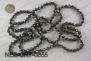 8mm crystal necklace NEC-CRY-0855