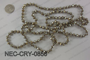 8mm crystal necklace NEC-CRY-0856