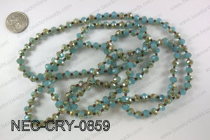8mm crystal necklace NEC-CRY-0859