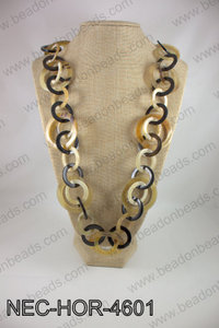 Horn necklace NEC-HOR-4601