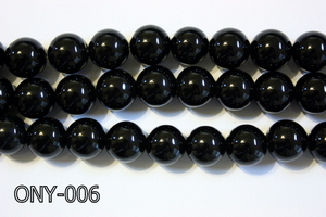 Black Onyx Round 14mm ONY-006