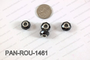 Pandora beads 14x9mm 5mm hole PAN-ROU-1461