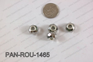 Pandora beads 14x9mm 5mm hole PAN-ROU-1465
