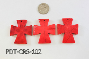 Cross Pendant 40x48mm PDT-CRS-102