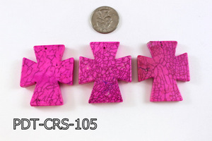 Cross Pendant 40x48mm PDT-CRS-105