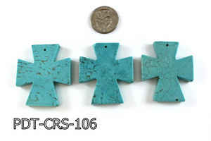 Cross Pendant 40x48mm PDT-CRS-106