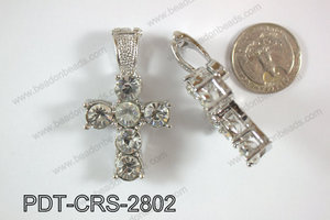 Cross Pendant 28x34mm PDT-CRS-2802