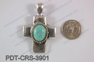 Cross Pendant 39x45mm PDT-CRS-3901