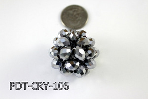 Crystal Ball Pendant Large PDT-CRY-106