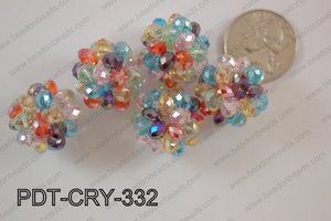 Crystal ball pendant 22mm PDT-CRY-332