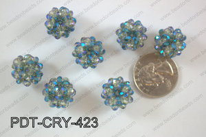 Crystal ball pendant 16mm PDT-CRY-423