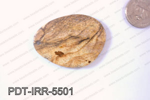 Jasper Pendant Irregular 55x40mm PDT-IRR-5501