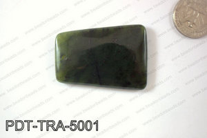 Canada Jade Trapezoid 35x50mm PDT-TRA-5001