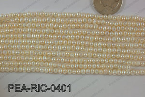 Freshwater Pearl Rice 4mm PEA-RIC-0401